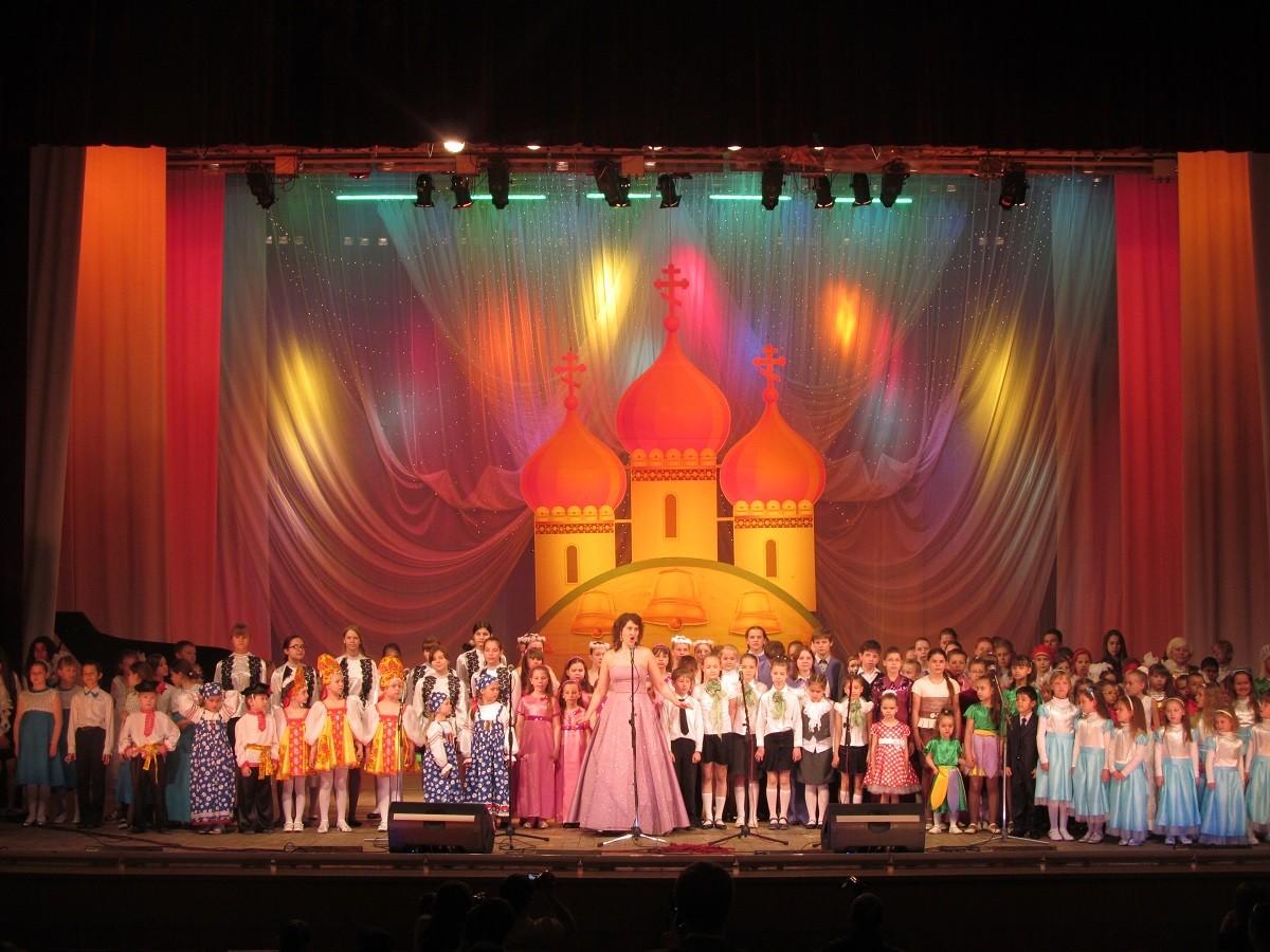 V Областной Фестиваль детского и юношеского творчества «Пасхальная капель» 2014 г.