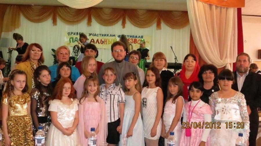 III областной фестиваль детского и юношеского творчества  «Пасхальная капель» 2012 г.