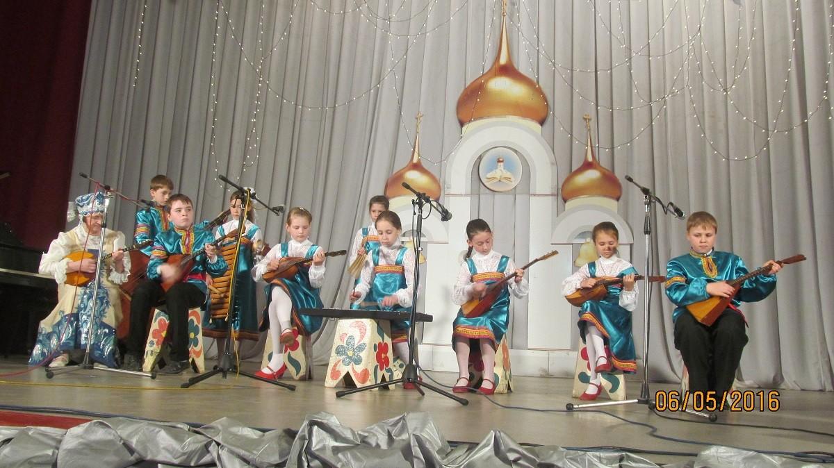 VII областной фестиваль детского и юношеского творчества «Пасхальная капель» 2016 г.